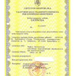 Keliu veiklos transporto licenzija
